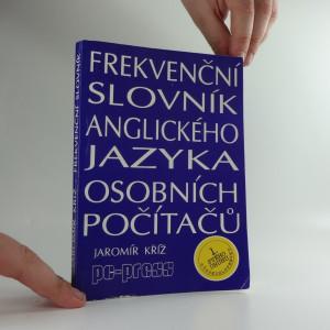 náhled knihy - Frekvenční slovník anglického jazyka osobních počítačů