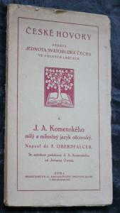 náhled knihy - J. A. Komenského milý a milostný jazyk otcovský