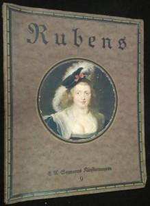 náhled knihy - Rubens acht farbige Wiedergaben feiner bauptmerte