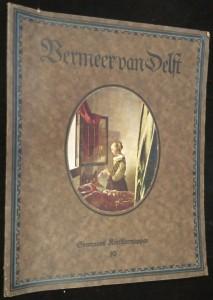 náhled knihy - Johannes Bermeer van Delft acht farbige Wiedergaben feiner hauptmerte