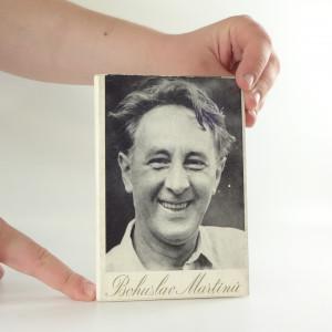 náhled knihy - Bohuslav Martinů