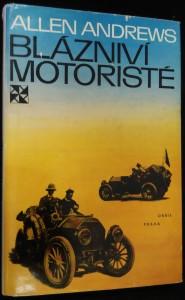náhled knihy - Blázniví motoristé