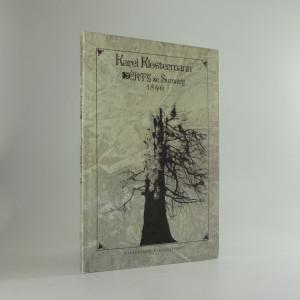 náhled knihy - Črty ze Šumavy 1890