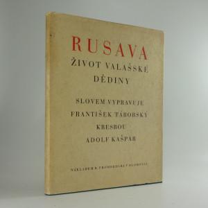 náhled knihy - Rusava : život valašské dědiny