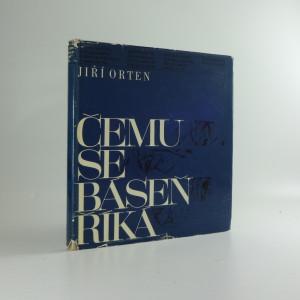 náhled knihy - Čemu se báseň říká