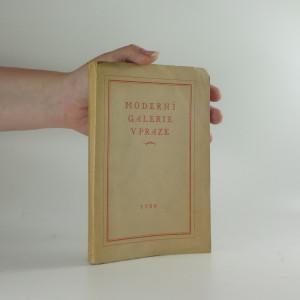náhled knihy - Katalog moderní galerie v Praze