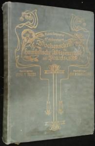 náhled knihy - Wochenschrift für homiletische Wissenschaft und Praxis