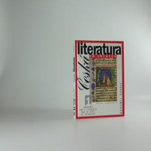 náhled knihy - Česká literatura ve zkratce. 1, Období od 9. století do 70. let 18. století