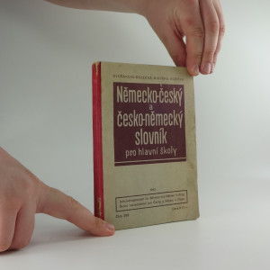 náhled knihy - Německo-český a česko-německý slovník pro hlavní školy