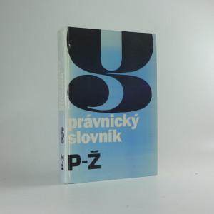 náhled knihy - Právnický slovník, P-Ž