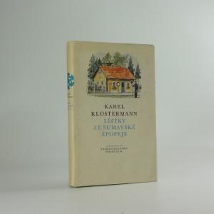 náhled knihy - Lístky ze šumavské epopeje