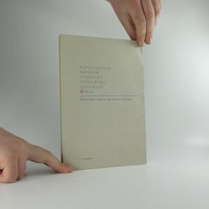 náhled knihy - Popularizace prvních výsledků vědeckého zkoumání Bible