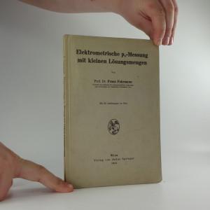náhled knihy - Elektrometrische ph-Messung mit kleinen Lösungsmengen