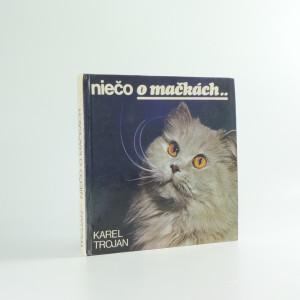 náhled knihy - Niečo o mačkách