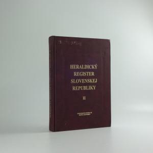 náhled knihy - Heraldický register Slovenskej republiky II