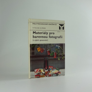 náhled knihy - Materiály pro barevnou fotografii a jejich zpracování