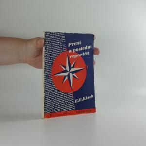 náhled knihy - První a poslední reportáž