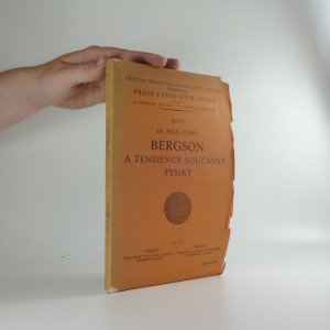 náhled knihy - Bergson a tendence současné fysiky