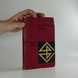 náhled knihy - Psychologie práce : zákl. otázky