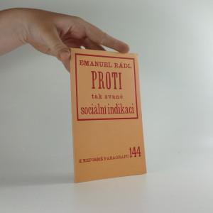 náhled knihy - Proti tak zvané sociální indikaci : námitky proti návrhu nového zákona o umělém potratu ...