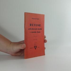 náhled knihy - Revise pokrokových ideálů v národní škole