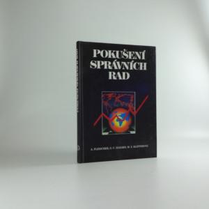náhled knihy - Pokušení správních rad