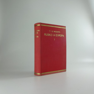 náhled knihy - Rusko a Evropa, díl. 1