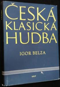 náhled knihy - Česká klasická hudba