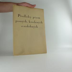 náhled knihy - Předlohy písem psaných, kreslených a ozdobných