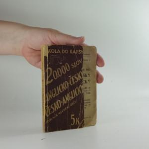 náhled knihy - Slovník mluvené řeči anglicko-český, česko-anglický
