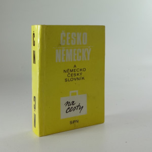 náhled knihy - Česko-německý slovník na cesty ; Německo-český slovník na cesty