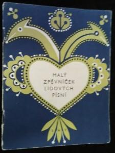 náhled knihy - Malý zpěvníček lidových písní