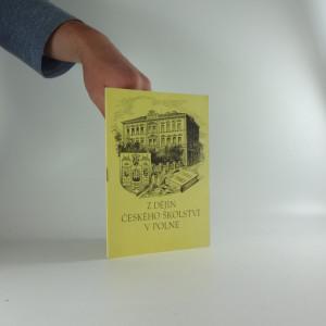náhled knihy - Z dějin českého školství v Polné