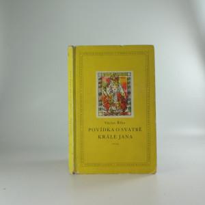 náhled knihy - Povídka o svatbě krále Jiřího