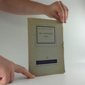 náhled knihy - Melancholická pout : soubor veršů III