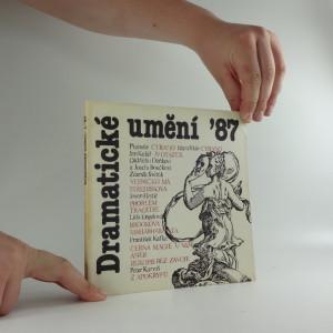 náhled knihy - Dramatické umění ´87