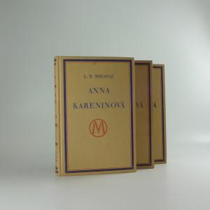 náhled knihy - Anna Kareninová, díl I-III