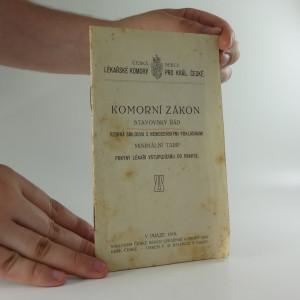 náhled knihy - Komorní zákon