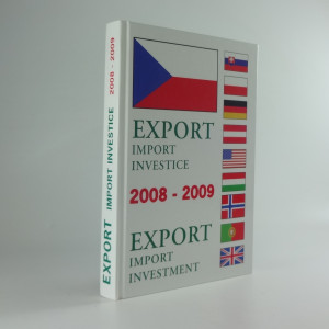 náhled knihy - Export import investice 2008-2009