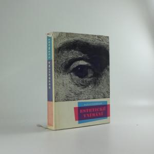 náhled knihy - Estetické vnímání : Příspěvek k společenské funkci výtvarného umění
