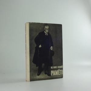náhled knihy - Paměti Dr. Karla Kramáře