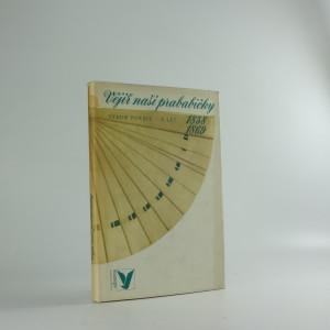 náhled knihy - Vějíř naší prababičky : výbor poezie z let 1858-1869