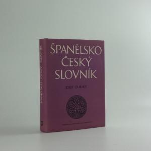 náhled knihy - Španělsko-český slovník
