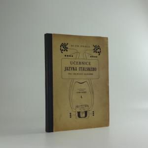 náhled knihy - Učebnice jazyka italského, díl I