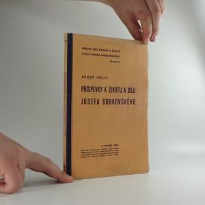 náhled knihy - Příspěvky k životu a dílu Josefa Dobrovského