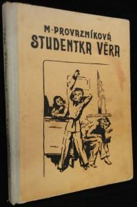 náhled knihy - Studentka Věra