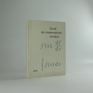 náhled knihy - Úvod do matematické analýzy
