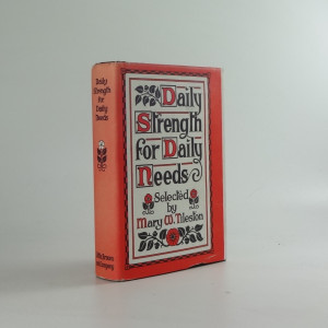 náhled knihy - Daily Strength for Daily Needs