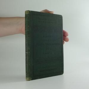 náhled knihy - Učebná kniha jazyka francouzského, kterou pro školy české sestavil Jan Herzer. Díl I