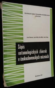 náhled knihy - Súpis entomologických zbierok v československých múzeách